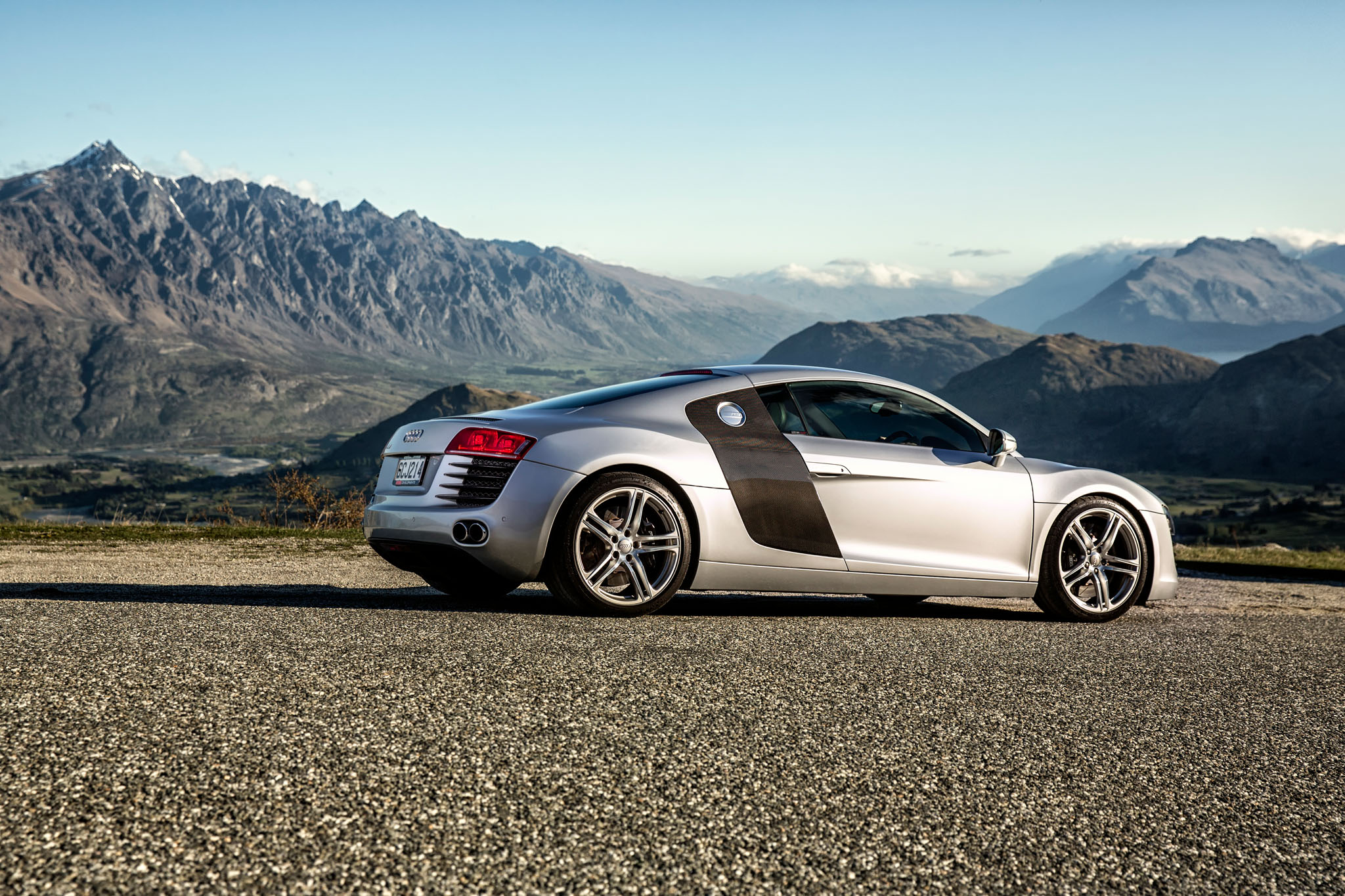 Queenstown Commercial Photography Car photography Audi